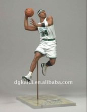Fashion making plastic modle figure/basketball