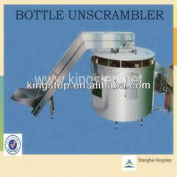 auto bottle unscrambler package machinery