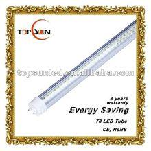 saving energy 2400mm 8ft 38W T8 led fluorescent tubes 85-265v