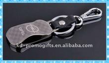 Customized Luxury Smart Car Logo Key Chain Hot Brand Car Shape Metal Keychain