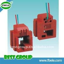 High quality RJ11 connector/ modular plug 6P4C/6P6C,4C2P