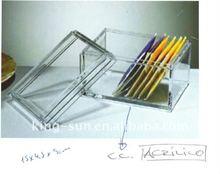 Plastic acrylic sugar container