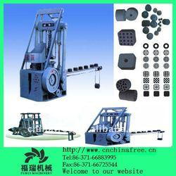 Various shapes coal dust briquette making machine