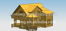 good quality with best price prefabricated wooden villa