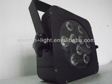 AL-P801 9*3W RGB 3in1 Tri-color flat led par