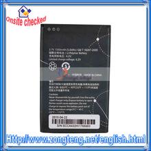 New 3.7 V 1500mAh Mobile Phone Battery for Huawei HB4F1 Black