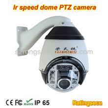 PTZ speed dome Array LED IR high speed dome camera