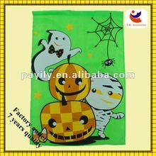 2013 fashion funny green halloween flag halloween decorations