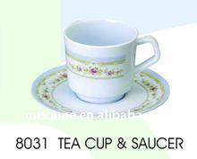 8031 Melamine TEA CUP&SAUCER 75+60G