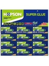 12pcs/card Aluminum Tube Super Glue Gel