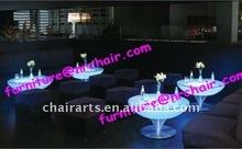 shanghai wholesale acrylic lounge LED lighted coffee table