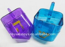 Ningbo Sunrise/ICTI factory/2014 hottest toy/ hot sell Plastic spinning top toys