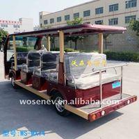 14 seats electric passenger shuttle bus for sale
