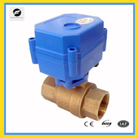 "3/4"" both female brass motorised actuator valve for watertreatment,Heating system"