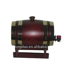 HONGDAO handcrafted pine paint spraying wooden wine barrel