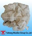 lavada de lana de lana de la alfombra de residuos de material
