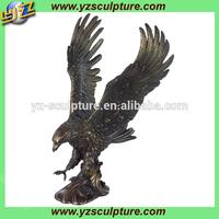 hot sale large bronze eagle sculpture for sale
