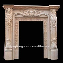 Hand Carved Marble Stone Door Frame Design