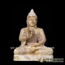 Eastern Hand Carving Natural Stone Buddha Statue