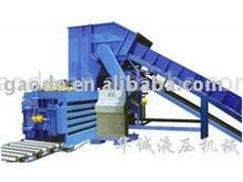 HPM Manual Belting Hydraulic Waste Paper Baler