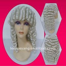 carnival wig/halloween wig/fun festival party wigs white wigs