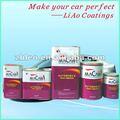 Automotiva repintura pintura acrílico revestimento de polímero resina