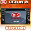 WITSON KIA CERATO CAR AUDIO SYSTEM WITH GPS with Auto Rear View Function