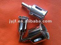 Electroplated diamond core drill bits