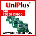 compatível com oki c5850 c5950 toner reset chip
