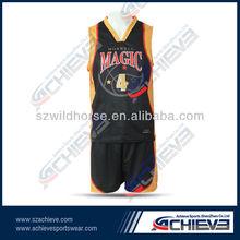 current international sublimation usa basketball tops