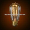 60w antiguas decoración bombilla de la lámpara- st58l e26 120v punta clara