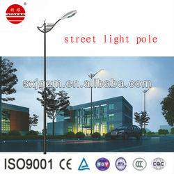 9M 250W single arm street lighting pole
