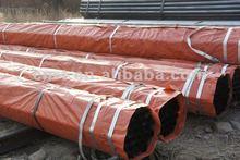 black painting steel pipe/api 5L steel pipe