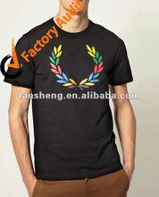 2012 men's fashion printing t shirt,100%cotton t shirt