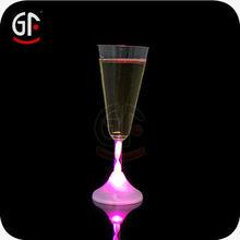 Hot Sale LED Light Up Flashing Champagne Glasses