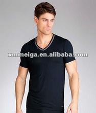 Mens gym undershirt,81% Cotton, 19% Spandex/Elastane,fym wear mens