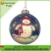 Christmas colored wholesale glass christmas ornaments