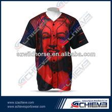 Sublimation High Quality Baseball Garment