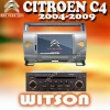 WITSON CITROEN C4 2004-2009 CAR VIDEO PLAYER with USB port and iPod ready