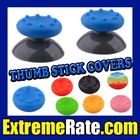 Analog Thumb Stick Thumbstick Grips Covers for Xbox 360 Controller PS3 Wii Joystick