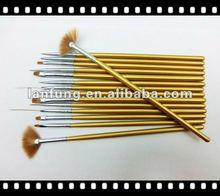 15pcs Fashionable design Nail Art Brush set