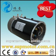 4kw 48v 2800rpm electric golf car dc motor