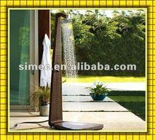 wicker rattan garden shower SCGS-001