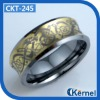 8mm Fashion Celtic Tungsten Ring