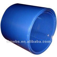 Corrugated plastic rolls