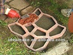 GARDEN SUPPLIES- Plastic Concrete Pavement Mould