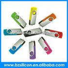 Colorful cheap swivel usb flash drive, twister usb drive,swivel usb 2.0
