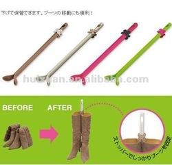Wholesale Elegant flower boots Holder plastic adjustable shoe Tree yiwu huixuan home furnishings