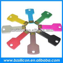 Colorful mini Keyshape USB, mini key usb, metal usb key