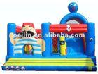 2012 new fabulous inflatable slide combo for kids